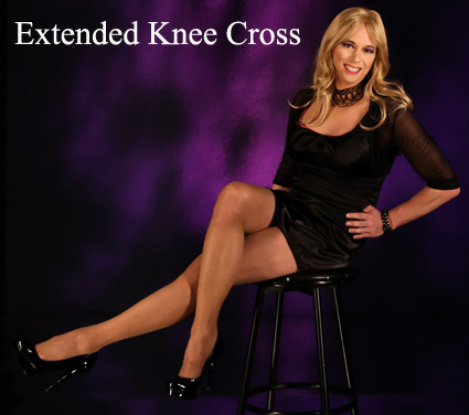 extended knee cross